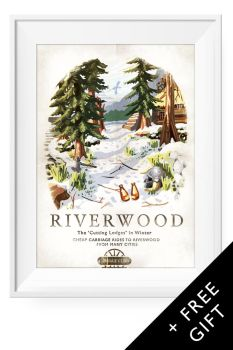 Riverwood in Winter by Cyberworm360