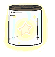 Glowing Star Doodle by jumpit13