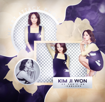+Kim Ji Won   Pack Png. by Heart-Attack-Png