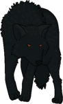Black Wolf by DeathPhantom