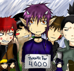 Thankie for 4000 hits by Kuu-ish