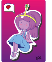 .:Princess Bubblegum:. by The-Butcher-X