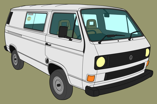 VW T25 Transporter by matt-g-ellis