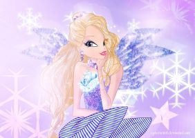 Elena Ice Princess by Cyberwinx