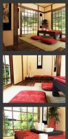 Japanese style room by anna1984
