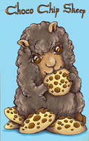 Choco Chip Sheep by TrollGirl