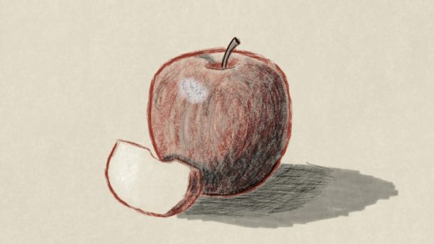 Apple by ChibiCelloKing