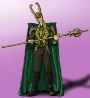 Loki, the God of Mischief by BenSmith128