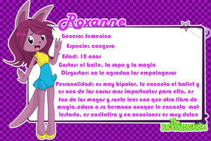 Roxanne Reference by angell0o0
