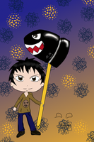 chibi and his mallet by boldDEBO