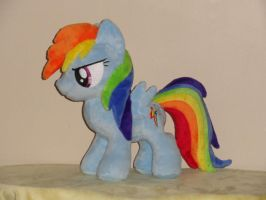 Rainbow Dash Filly by WhiteDove-Creations