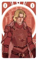 Game of Thrones' cards | Jack Jaime Lannister by SimonaBonafiniDA