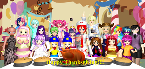 Happy Thanksgiving 2013!!! (#2) by Mario-McFly