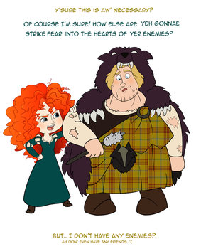 Pocket Princesses: Brave MacGuffin by Weasley-Detectives