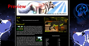 Preview Site WIP by AzureHowlShilach