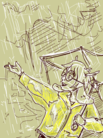Tegaki: Raincoat Taig by ph00