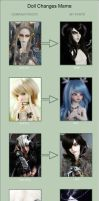 Doll Changes Meme - Part 2 by Sheilagold