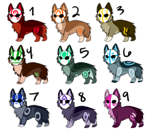 Masked Adopts [2 LEFT] NOW HALF OFF by sherbi