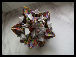 Origami Star by lonely--soldier