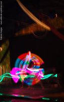 Neon Juggling2 by Elfland