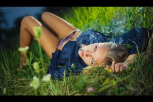 "Grass Relax ""Bad Girl"" Edition by platen"