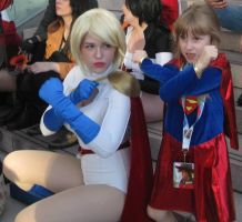 Power Girl Inspiring Young Imaginations by YokohamaEric