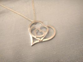 Mother's Day Bespoke Heart Pendant by annielijewellery