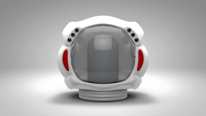 Space Helmet by Exherion