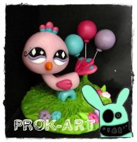 little pet shop... bird by prok-art