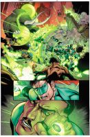 Green Lantern 5 Page Ten by xXNightblade08Xx