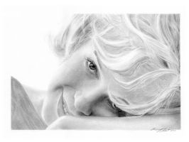 Marilyn Monroe by hartr