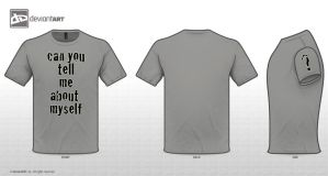 Quote t shirt contest by Barkoman