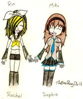 Sophia And Rachie's Vocaloid by TheEmoRagDoll