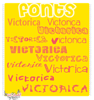 Fonts#2 by victoricaDES