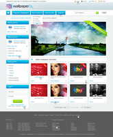 WallpaperFX Design for Homepage by name23