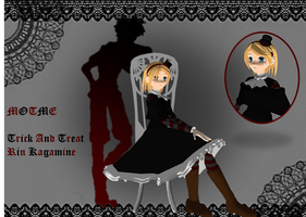 MOTME - Trick And Treat Rin Kagamine by miku-chan-love
