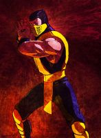 Scorpion mortal kombat II by PitBOTTOM