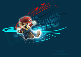 Mario by ZelnickDesigns