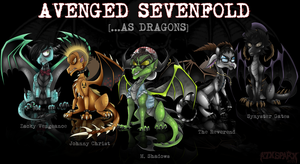 AVENGED SEVENFOLD--AS DRAGONS by A7XSparx