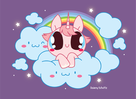 Unicorn From the Sky by Daieny