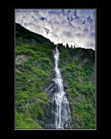 Morning Cascade by anonymous66