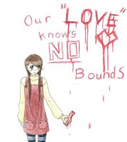 Our Love knows No bounds by LydiaLawliet