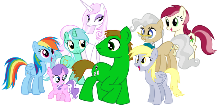 Green Goal Gets All The Mares by shadymeadow