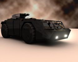 USMC M557 APC by oninross