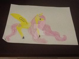 Fluttershy by cottonbelle