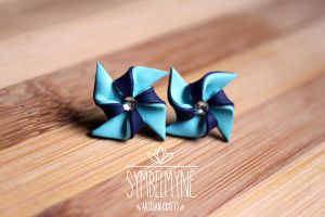 Windmill Earrings by Nabila1790