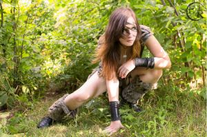 Barbarian Girl 2 by Emilie-R-Photos