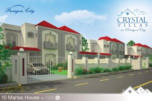 Crystal Villas Flyer Type b by Naasim