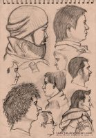 My sketchbook selections 19 by radu-jm