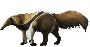 Anteater  Speedpaint by Pekan-Pie